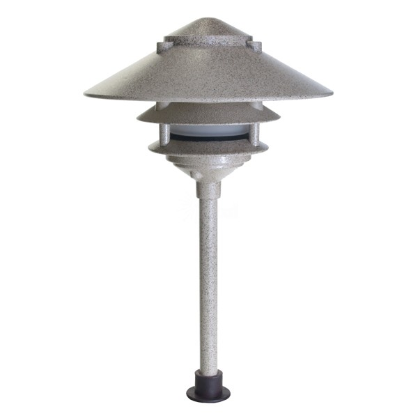 Low Voltage Outdoor Lighting Replacement Parts: Landscape Lighting Low Voltage Clear Lens Wide Brim Pagoda