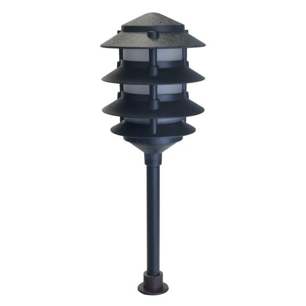 Landscape Lighting Low Voltage 4 Tier Pagoda