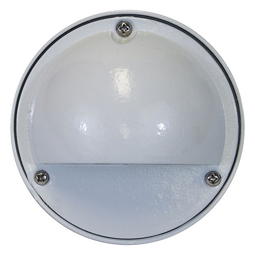 Step Lights Outdoor Low Voltage: Outdoor Low Voltage Hood Cast Aluminum Round Surface Step