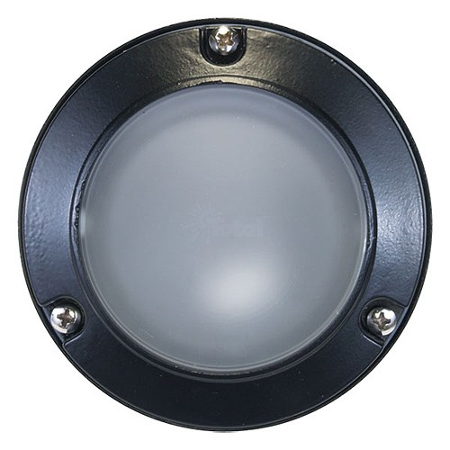 Outdoor Low Voltage Mini Frosted Glass Dome Lens Cast