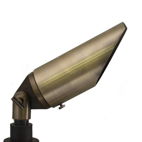 Landscape lighting adjustable hood bullet spot low voltage for Bullet landscape lights
