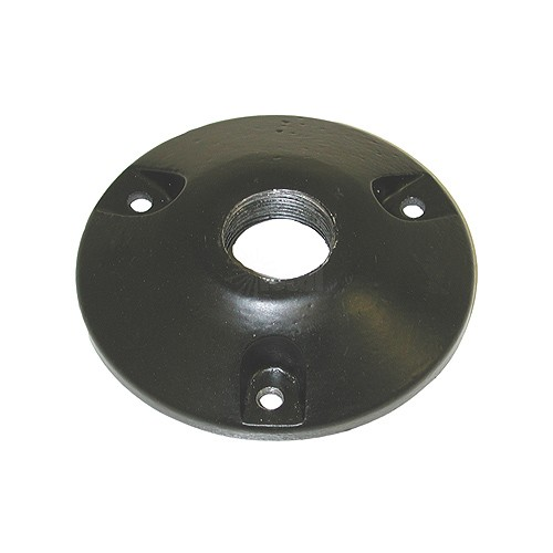 Porch Light Mounting Bracket: Surface Mount Round Bracket For Outdoor Landscape Lighting