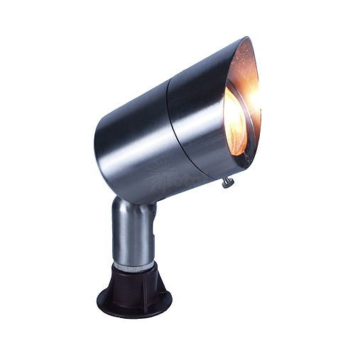Low Voltage Outdoor Lighting Replacement Parts: Landscape Lighting Stainless Bullet Spot Low Voltage