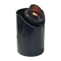 Landscape lighting MR16 adjustable sleeve shade cast aluminum well light