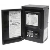 Outdoor Malibu 8100-0200-01 200 watt transformer with digital timer and photo eye