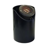Landscape lighting MR16 adjustable sleeve grill fiberglass well light