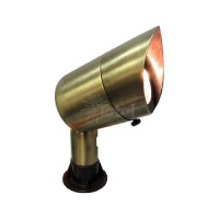 Landscape lighting mini hooded bullet spot low voltage