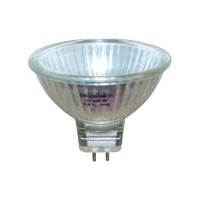 Clear lens EXN MR16 50 watt 12 volt flood halogen light bulb