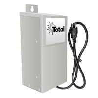 EMCOD outdoor ESL100W 100watt 12/15volt LED AC landscape transformer stainless steel with mechanical timer & photo eye