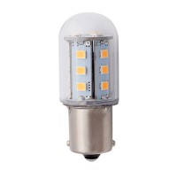 LED LBAY-WW 1.6watt bayonet B15s 3000K light bulb