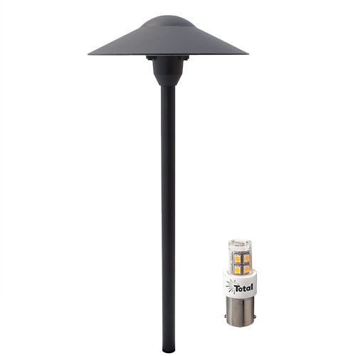 Black LED Outdoor Landscape Path Light