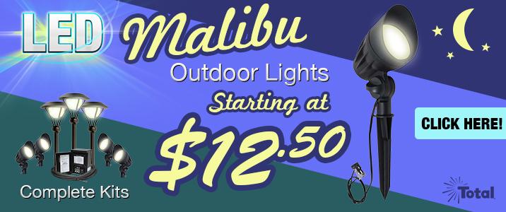 Malibu LED-8301-9601-01 Flood Lights