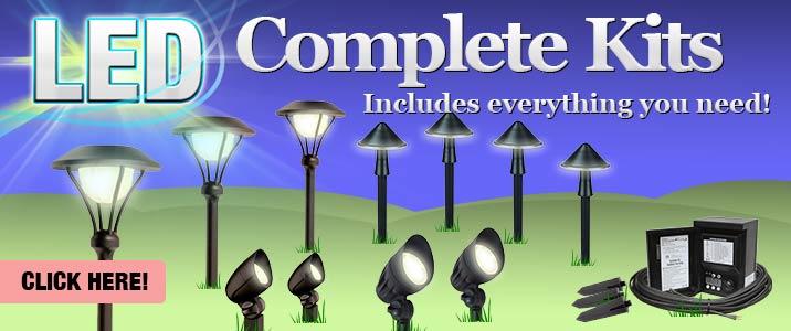 LED Complete Light Kits