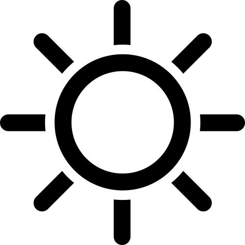 fine light symbol contemporary electrical circuit