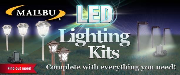 Buy Buy LED Malibu outdoor lighting kits