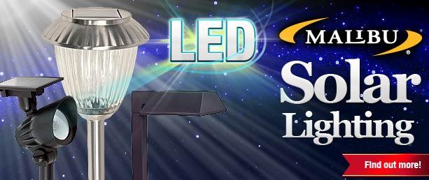 Buy LED Malibu solar lights