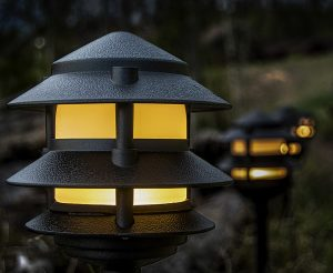 LED 3-Tier Pagoda Light