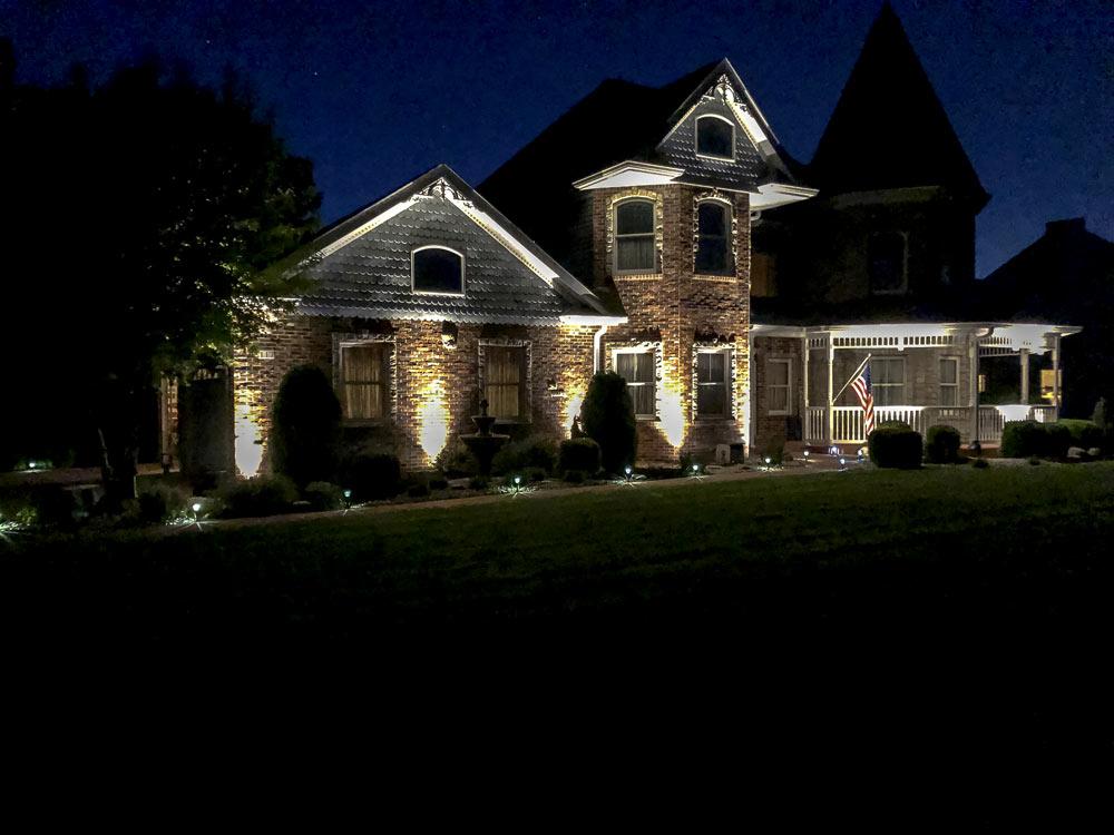 Led Outdoor Landscape Lighting A Fancy, Outdoor Spot Lights For House